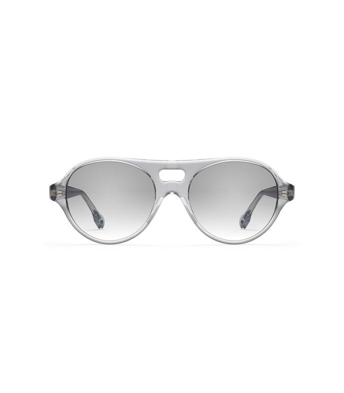 jenna sunglasses in smoke crystal