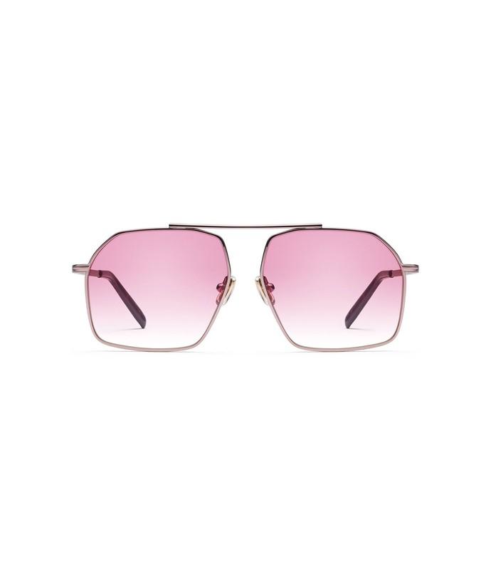 linda sunglasses in rose gold