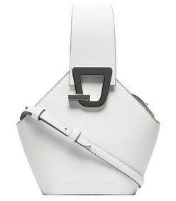 white mini johnny shoulder bag