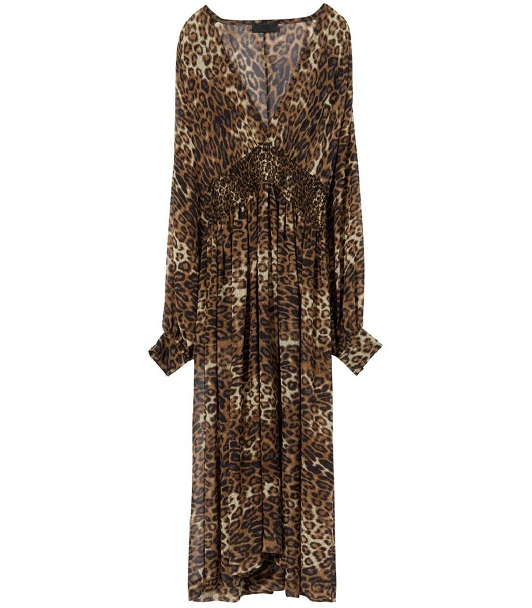 Leopard Print Brienne Dress