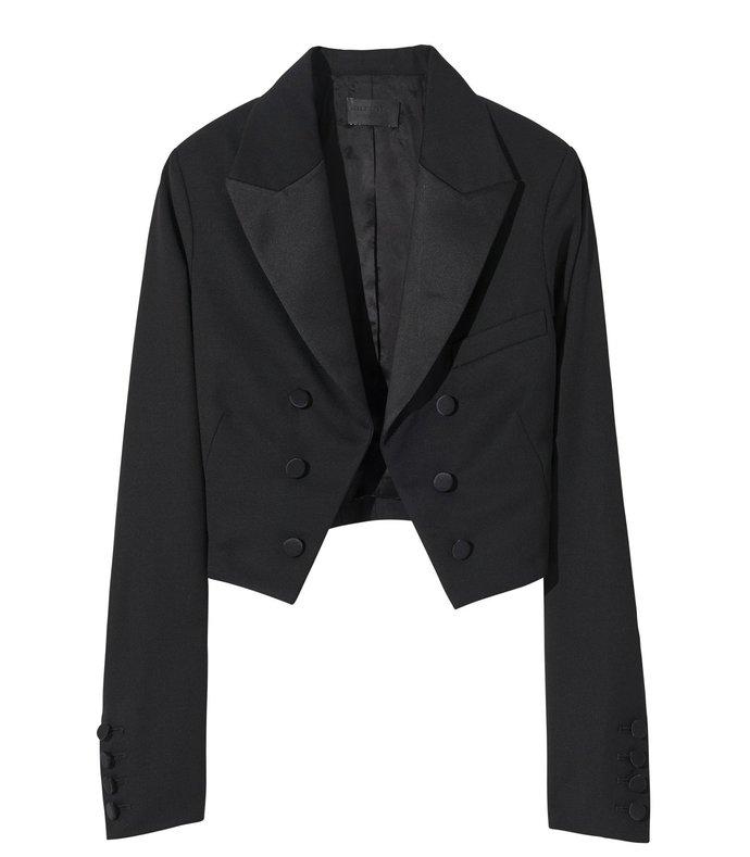 reagan jacket in black