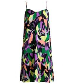 multicolor apollo mila slip dress