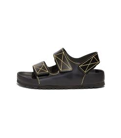 ps x birkenstock milano sandal in black