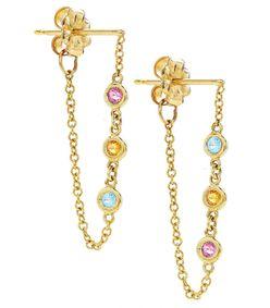 the dottie hoop earrings