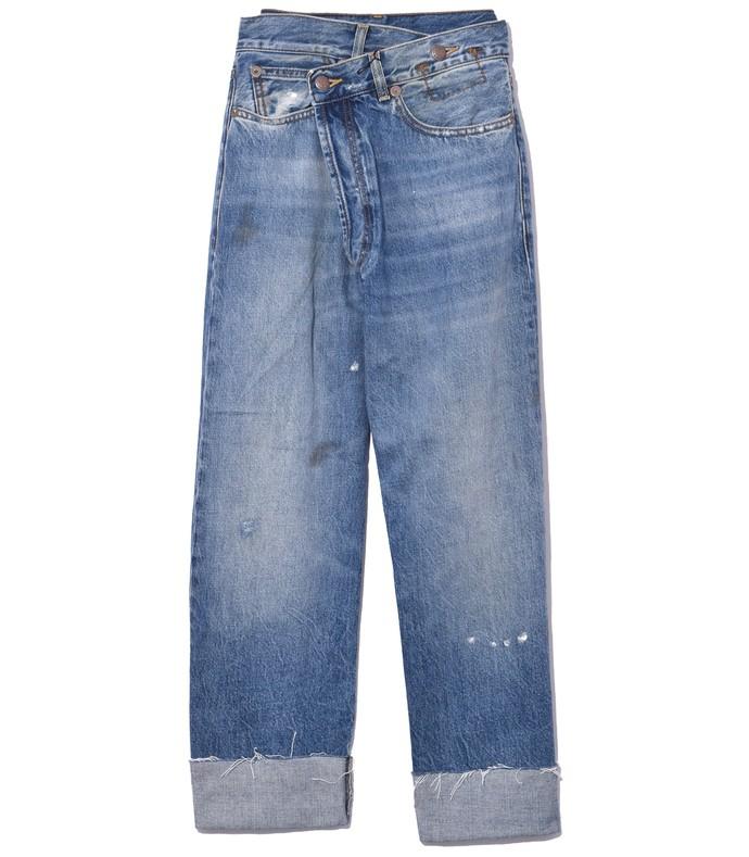 Light Blue Jasper Crossover Jeans 210000034833