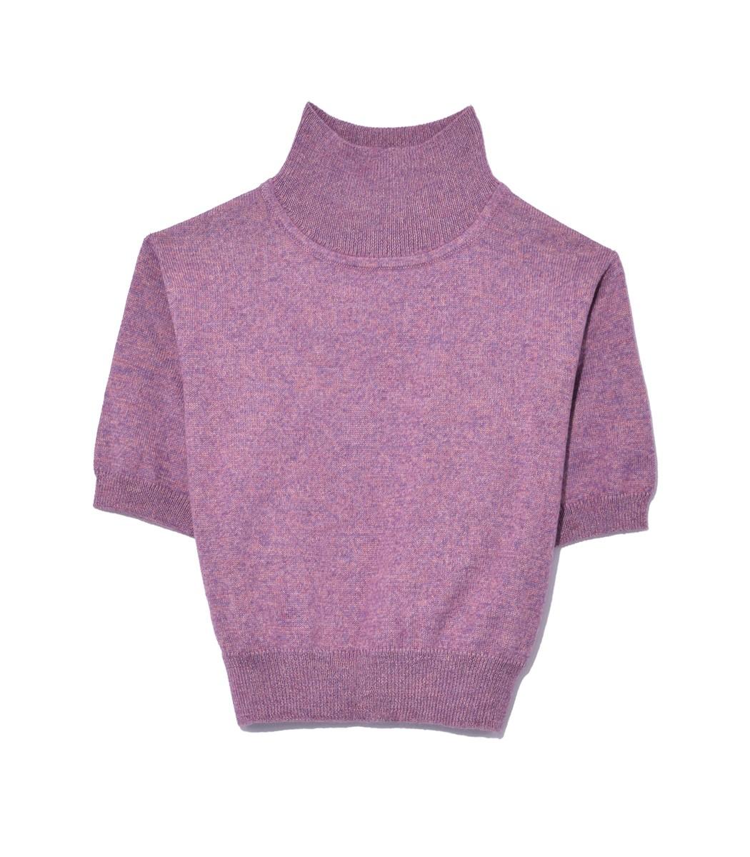 Rachel Comey Purple Lilac Cropped Tee