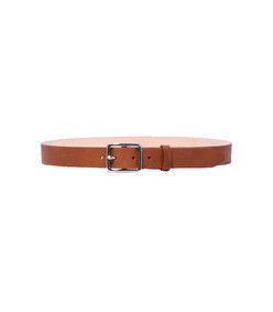 pebbled tan boyfriend belt