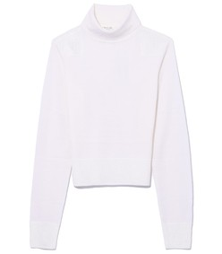 ivory doyle funnel neck top
