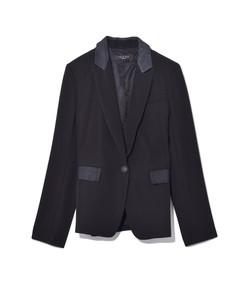 rylie blazer in black