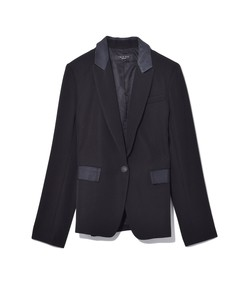 rylie blazer in black
