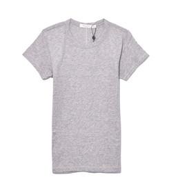heather grey short sleeve tee