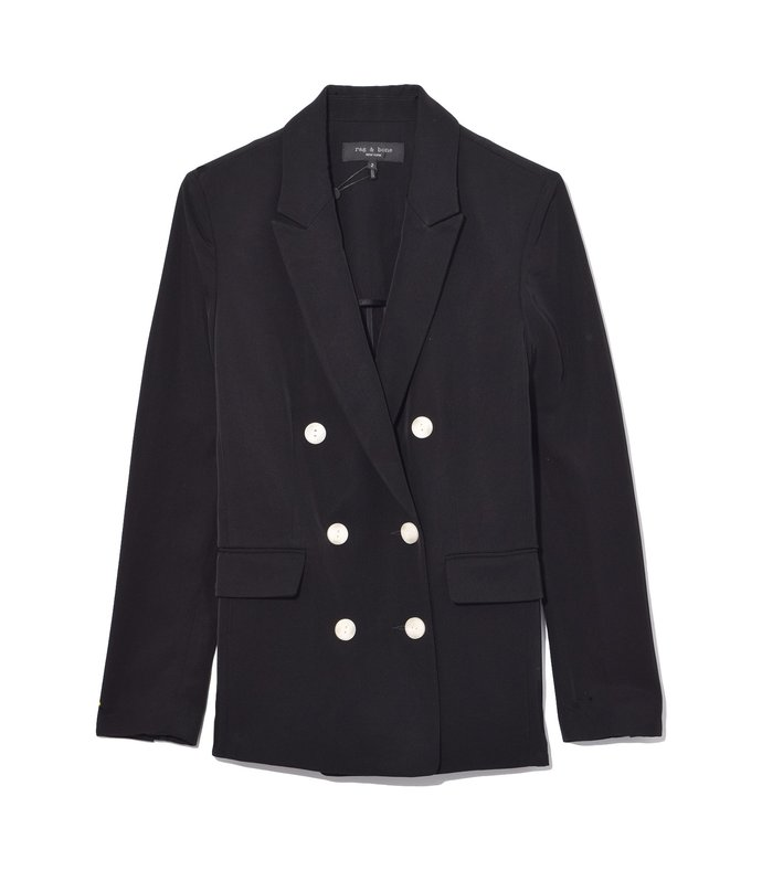tia blazer in black