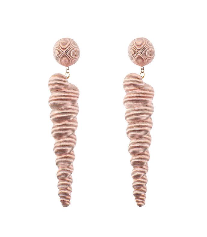 sea shell drop earring