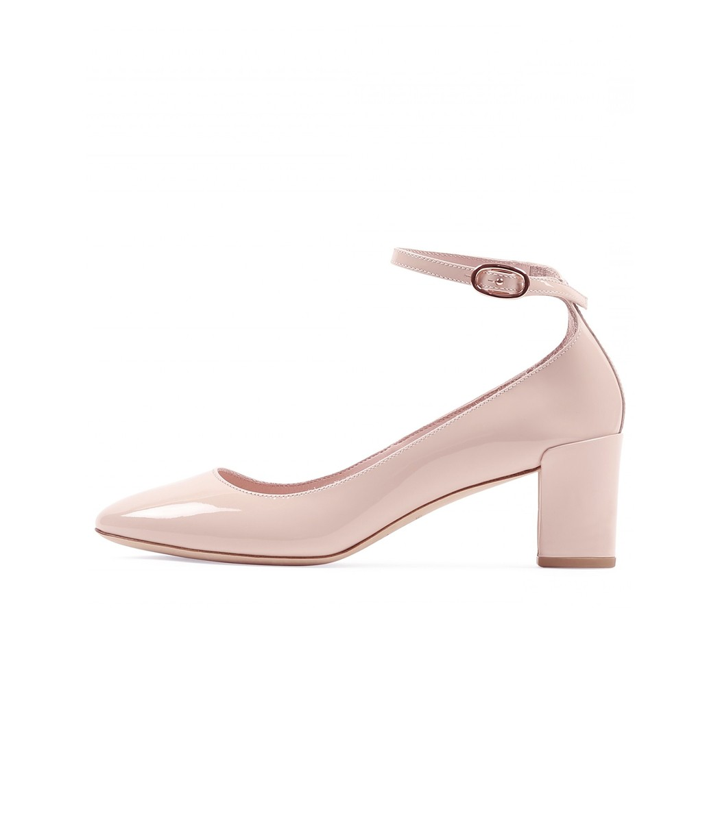 REPETTO Electra Mary Jane Heels Pink
