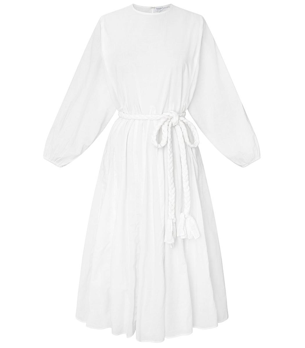 Rhode Devi Dress in White