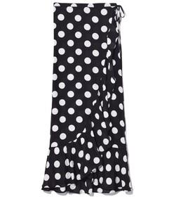 gracie skirt in polka dot