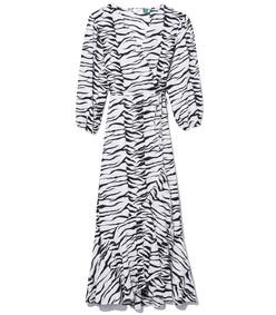 noleen dress in mono tiger