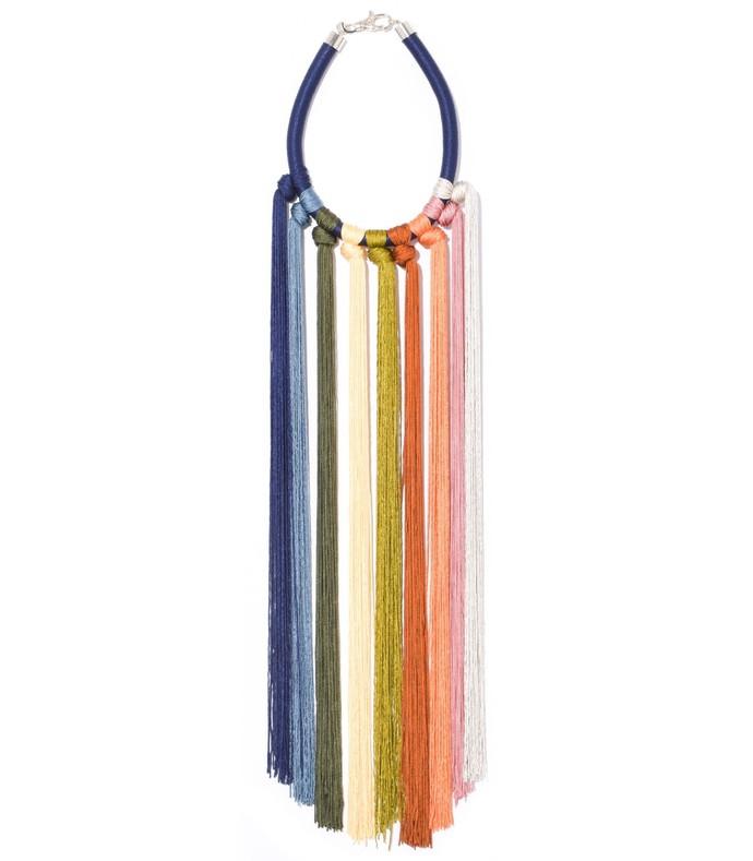aili necklace in multicolor