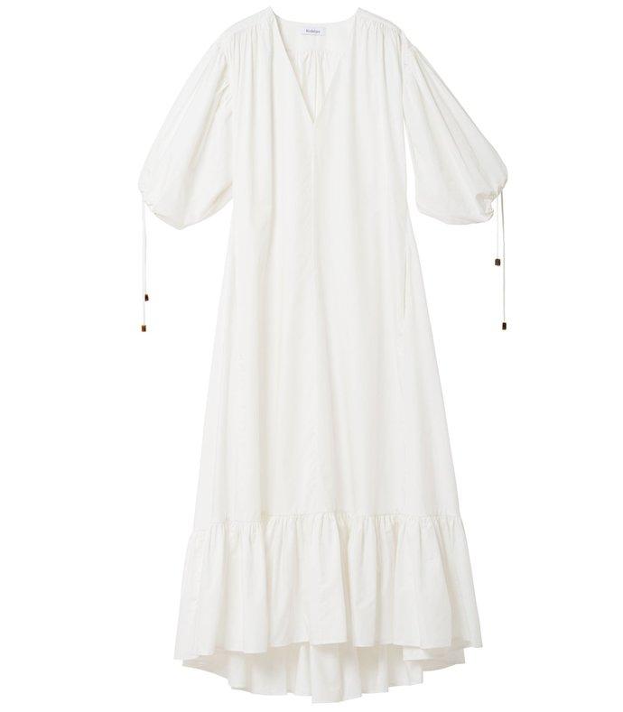 dakota dress in white