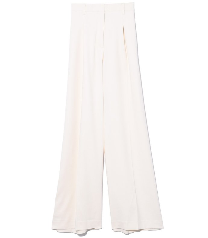 gizella pant in puffy white