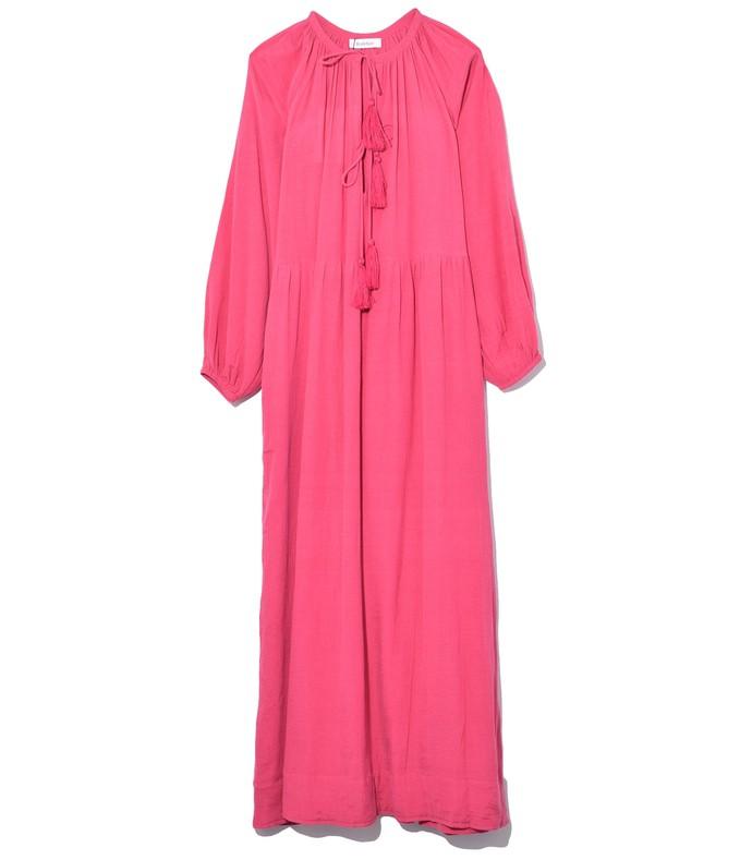 juliet chiffon dress in pink
