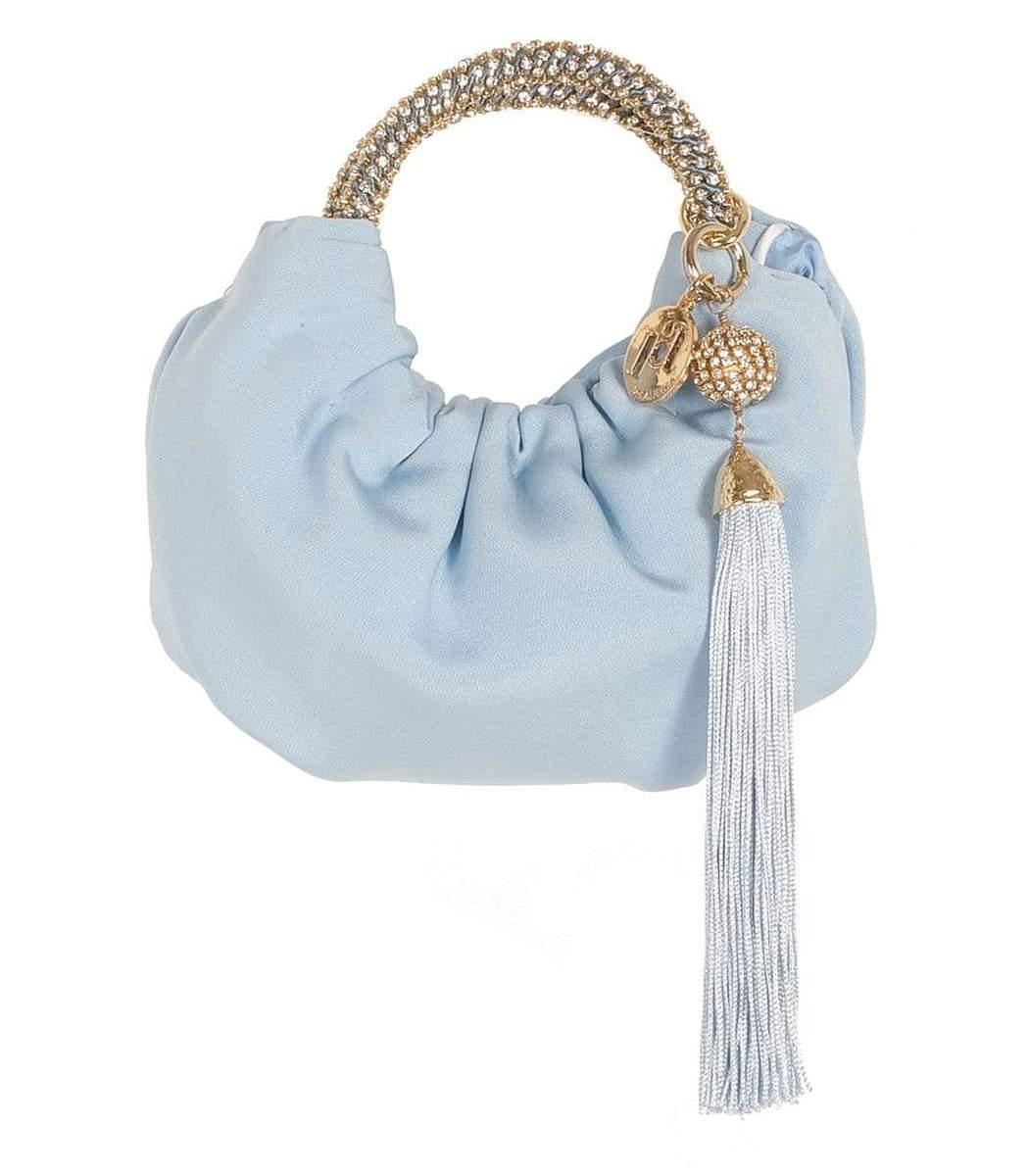 Rosantica Mini Croissant Handbag - Blue