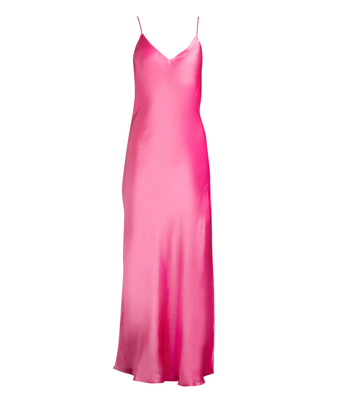 pink punch slip dress