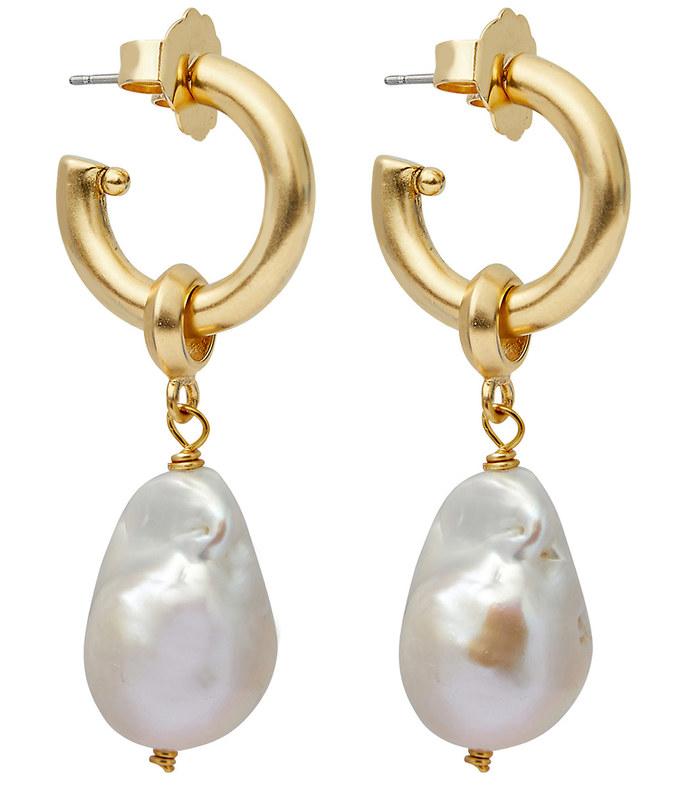 favorite pearl hoops