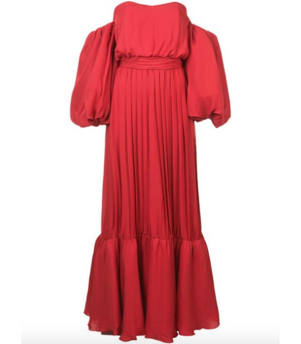 Red Senora Maria Rosa Dress