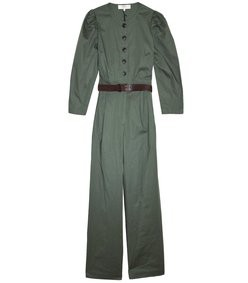 scott jumpsuit in forest