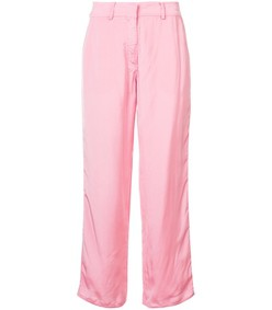 pink willa washed trousers