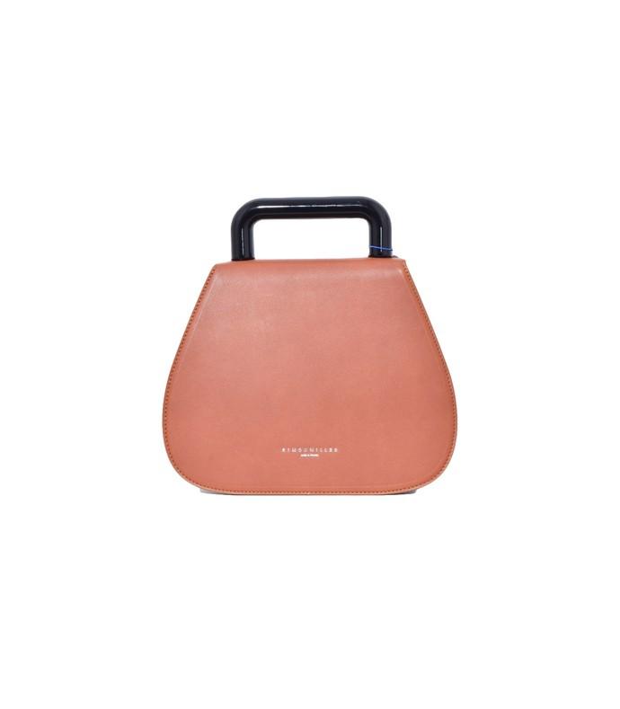 blast bag in dark tan