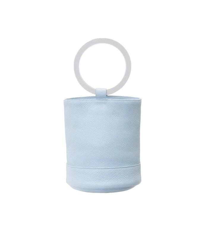 bonsai 20cm bag in grey petrol