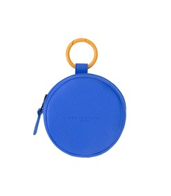 circle pop pouch in electric blue