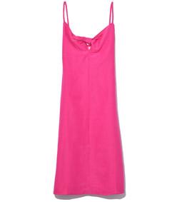 oriska dress in heliconia