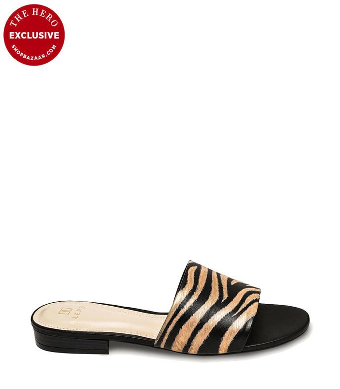 shopbazaar zebra black slide