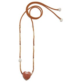tan dawn gemini necklace