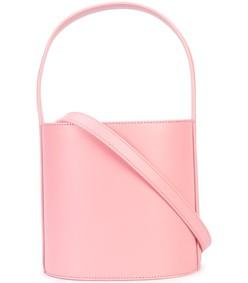 pink bucket tote