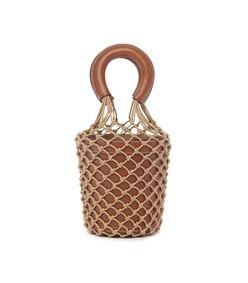 brown/ivory saddle moreau bag