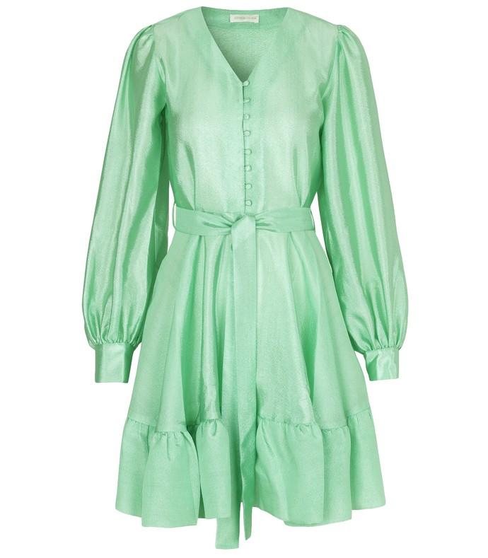 Farrow Dress in Jade