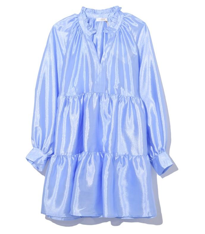 jasmine full dress in sky blue