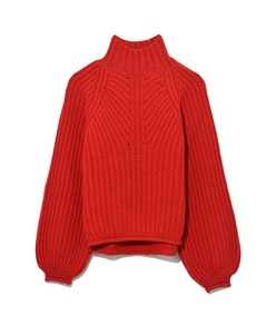 red nicholas sweater