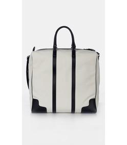 ivory/black multi dimanche bag