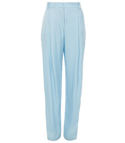 baby blue sculpted pants