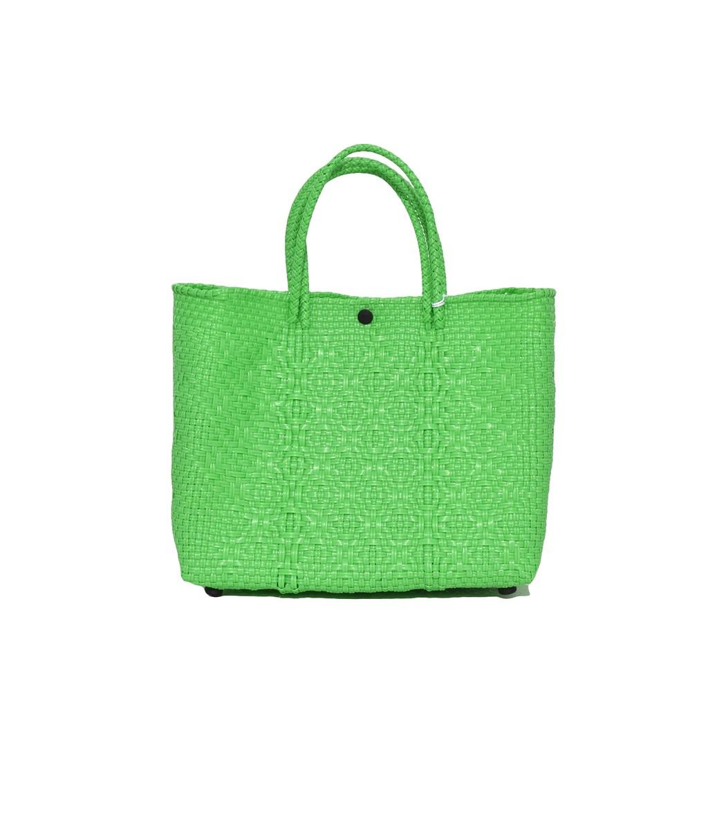 TRUSS Green Small Tote Bag
