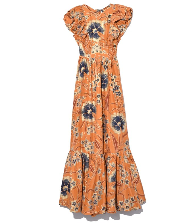 antoinette gown in amber