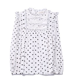 bailey blouse in blanc