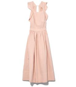 pink willa pinafore dress