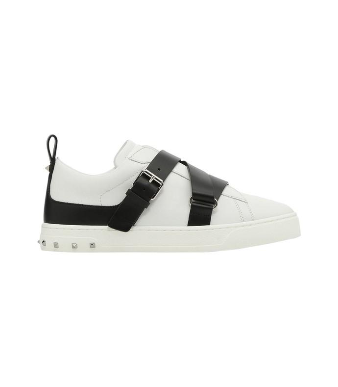 black/white v-punk sneaker