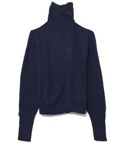 navy cliff merino sweater